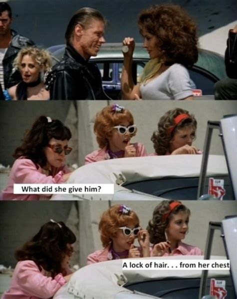 film quotes grease pink ladies grease quotes quotesgram