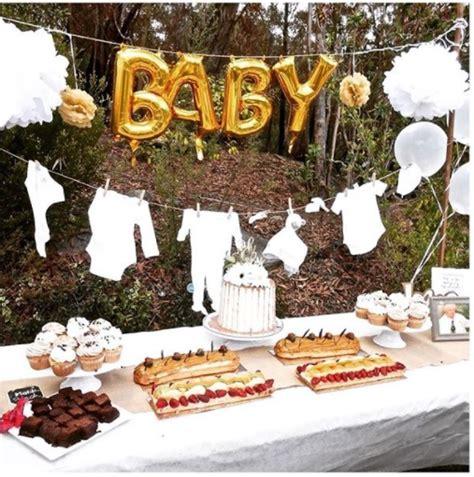 inspirasi dekorasi baby shower  bisa  tiru