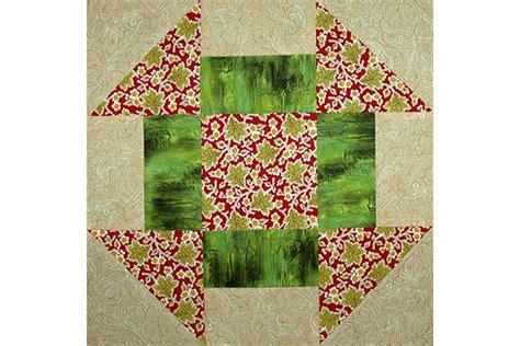 easy 12 quot churn dash quilt block pattern