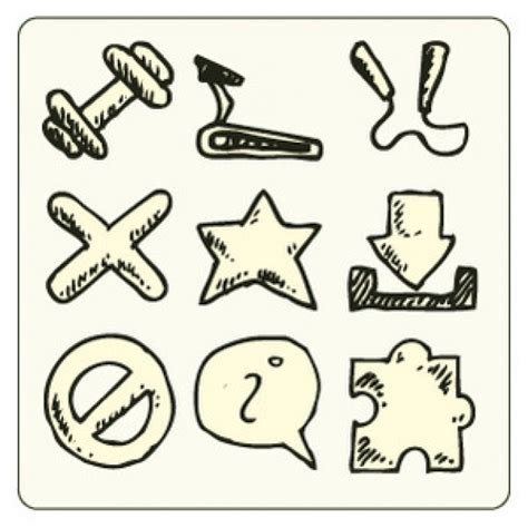 doodle 4 resources doodle resources icon design vector vector free