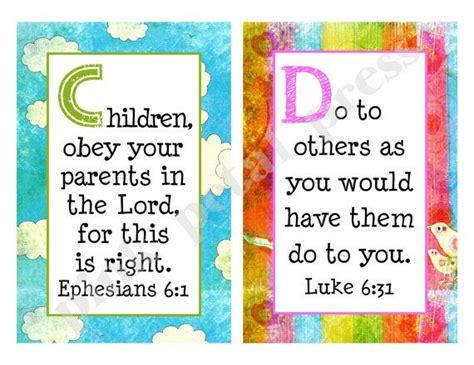 Abc Scripture Cards Printable
