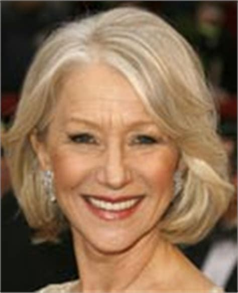 helen mirren cuts hair elegant hairstyles helen mirren wearing elegant chignon hairstyle at the 2010