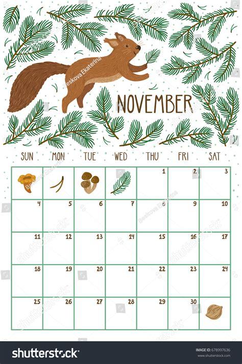 Calendar 2018 November November 2018 Calendar Printable Weekly Calendar