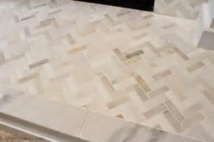 Allen and roth tile backsplash herringbone allen roth picasso tile