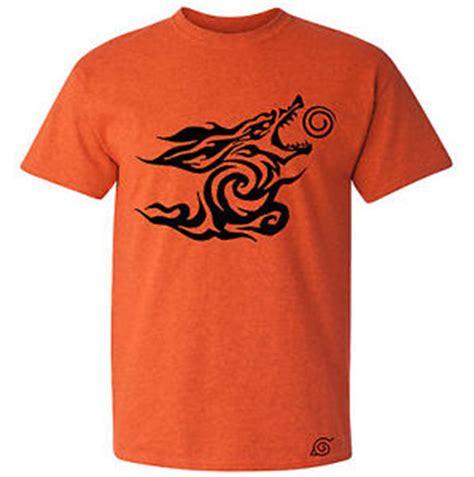 T Shirt Kurama t shirt kurama the nine tails beast anime t shirt white a orange sz ebay