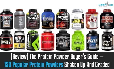 supplement brands review the protein powder buyer s guide 150 popular