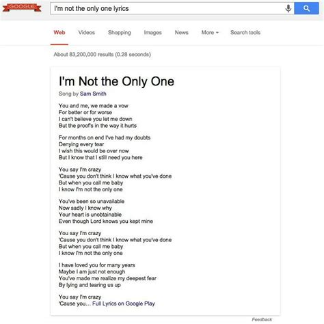 Lyrics Lookup Song Lyrics Search Myideasbedroom