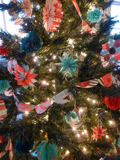 paper diy christmas tree ornaments