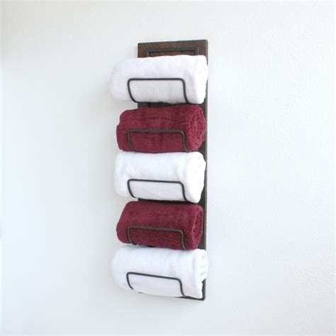 bathroom towel storage wall mounted rustic bathroom towel rack wall mounted towel rack