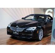 2011 NAIAS  Back In Black The BMW 6 Cabriolet Shows Its