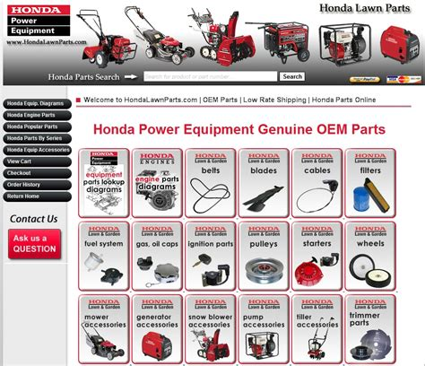 How to Find Honda Mower Part Numbers   Honda Lawn Parts Blog