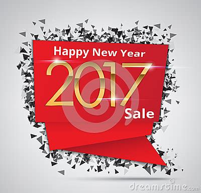 new years sale new year sale 2017 creative sale tag or paper banner