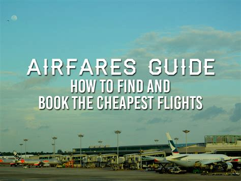 best flight booking airfare resources a guide to the best flight booking