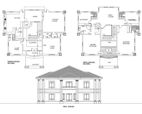 house designs floor plans nigeria detached 5bedroom duplex floor plan akz0062 arkiemz