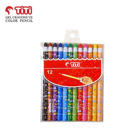 Crayon Merk Titi 24 Colour sanat dunyasi www sanatdunyasi tr