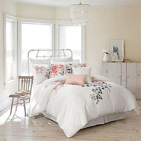 Sanderson Magnolia Blossom Comforter Set Bed Bath Beyond Sanderson Bedding Sets