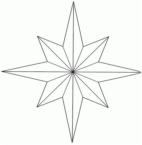 star pattern in c pdf hopemore eight point star template bodymodarts