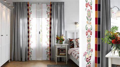 ikea gardinen panel curtains or panel curtains both the kvartal track system