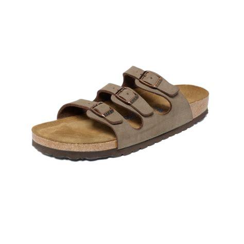 sandals fl birkenstock florida sandals in brown mocha lyst