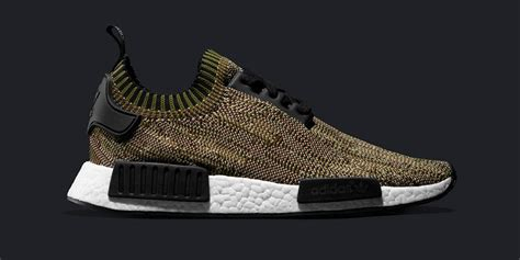 Sepatu Adidas Nmd R1 Prime Knit Yellow Pack Premium Original adidas nmd r1 primeknit camo pack olive cargo where