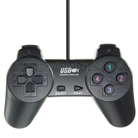 Usb Controller 10 usb 2 0 gamepad shock joypad joystick controller for pc computer black eur 4 57