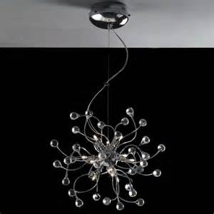 Modern Chrome Chandeliers Brizzo Lighting Stores 18 Quot Sfera Modern