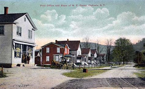Post Office and Store of W.F. Penny, Cadosia - Delaware ...