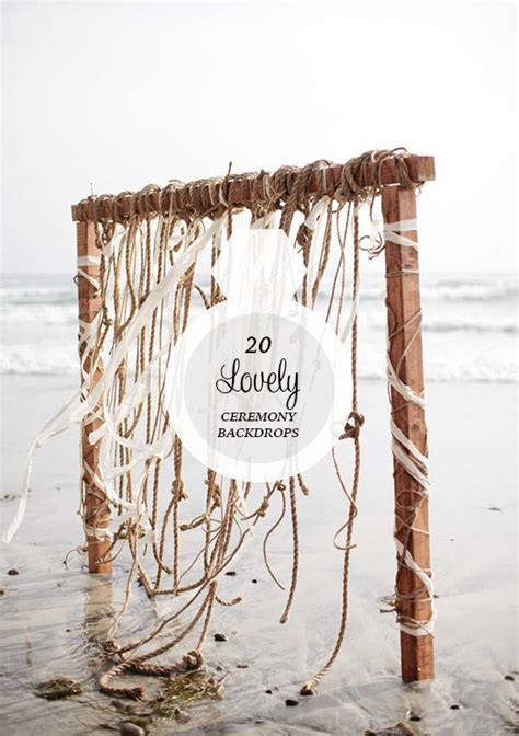 wedding ceremony backdrop rentals 20 lovely ceremony backdrops