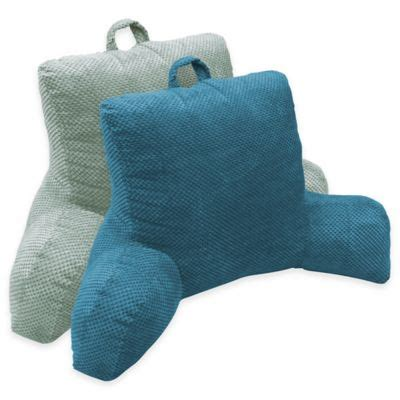 buy plush backrest pillow from bed bath beyond buy arlee home fashions 174 nevada cut plush backrest pillow