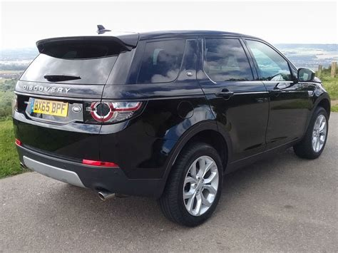 land rover discovery sport black 2015 land rover discovery sport 2 0 td4 180bhp hse