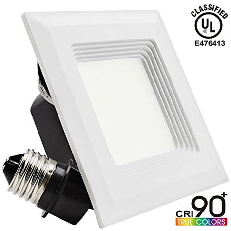 how to replace old square recessed lighting 4 square 9w recessed light bulbs fittings ideas