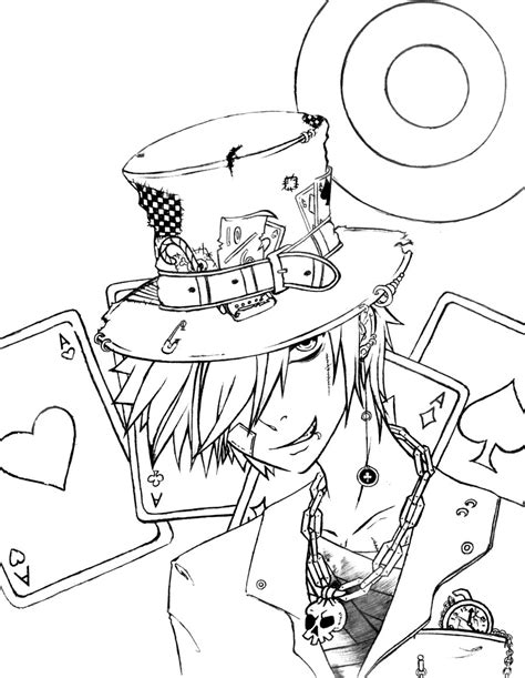 the mad hatter by icybluesky on deviantart
