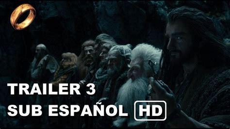 s day trailer subtitulado el hobbit la desolaci 243 n de smaug trailer 3 subtitulado