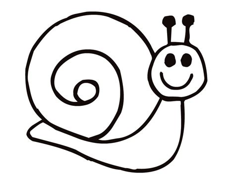 snail printable coloring pages