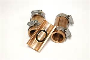 Copper Pipe Repair Copper Repair Saddles With No Soldering No Cutting No