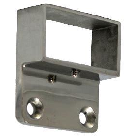 Engsel Panel Ss 50mm offset 50mm x 25mm wall plate ss316