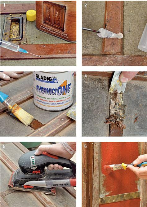 restaurare un tavolo di legno restaurare un baule antico bricoportale fai da te e