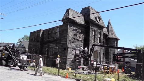 film it locations stephen king s it filming location haunted house youtube