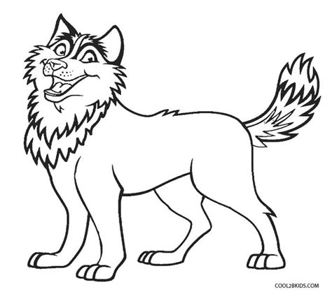 free husky puppy coloring pages