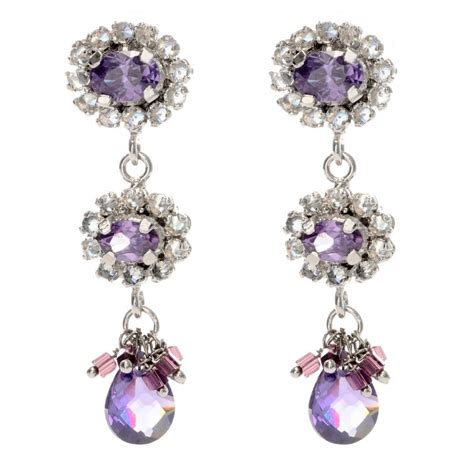 Purple Chandelier Earrings Purple Chandelier Earrings My Jewelry