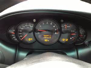 Porsche Dashboard 50k On Dashboard Rennlist Porsche Discussion Forums