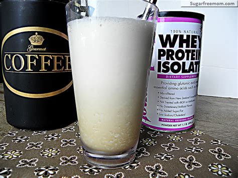 Protein Coffee free iced coffee protein frappe no sugar added