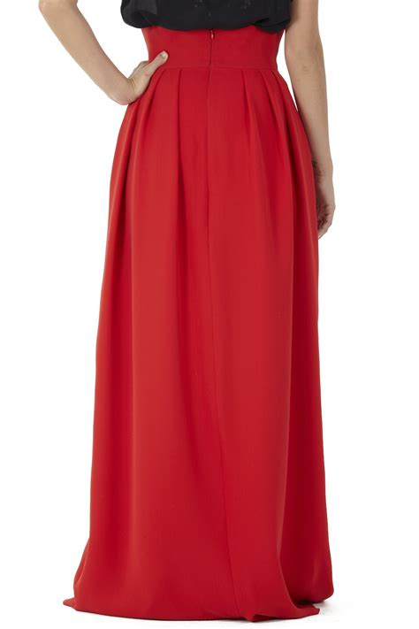 sakina high waist maxi skirt from montmartre shoptiques