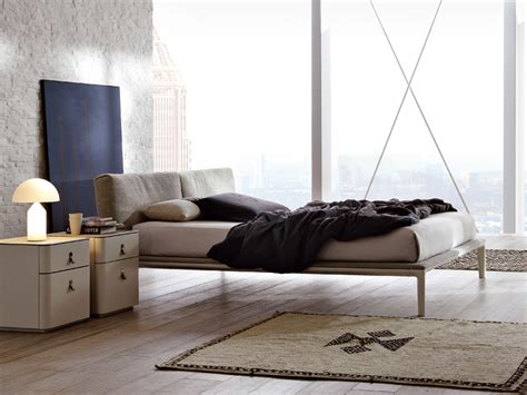 Wooden Bed With Upholstered Headboard Join By Alivar Joining Beds