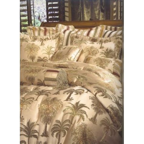 Palm Tree Bedding Sets 8pc Southern Textiles Palm Tree King Size Bedding Bed In A Bag Comforter Set