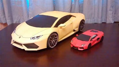 Papercraft Lamborghini - yoshiny s design lamborghini huracan papercraft