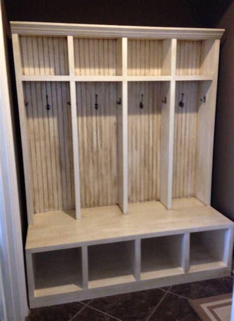 mudroom locker entryway hall tree storage cabinet decorative ideas