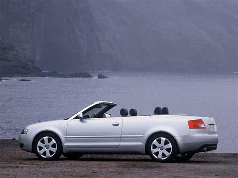 second audi a4 convertible audi a4 cabriolet specs 2002 2003 2004 2005