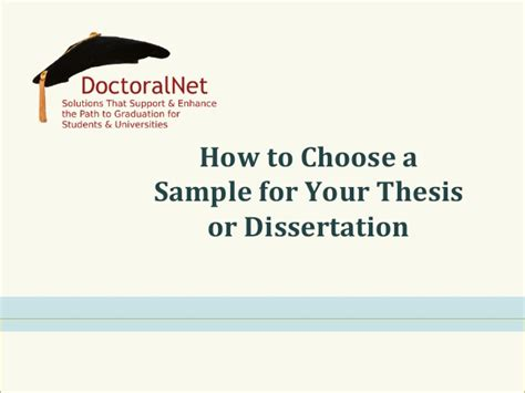 thesis or dissertation how to choose a sle for your thesis or dissertation