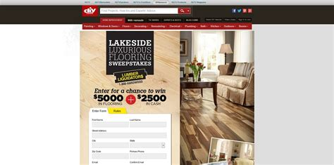 Flooring Sweepstakes - lumber liquidators lakeside luxurious flooring sweepstakes 5000 in flooring 2500